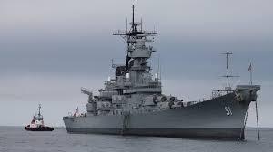 Battleships and fishin' boats….