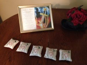 Faithfulness handsewn pillows to Titus 2 5 16